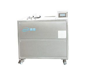 Electrolytic mold cleaning machine